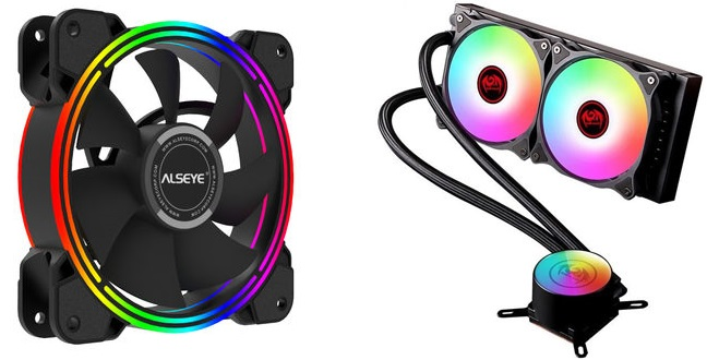 Fan mounts and Water Cooling