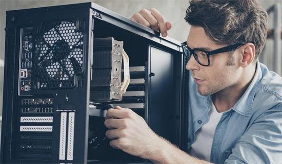 PC cable management