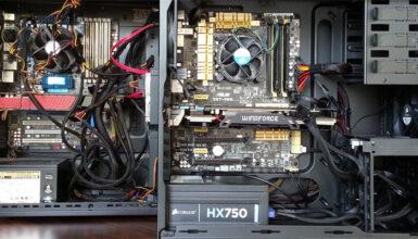 PC case cable management tips