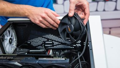 How to install PC case fans